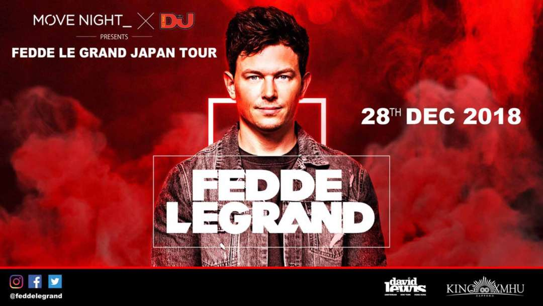 SPECIAL GUEST:FEDDE LE GRAND